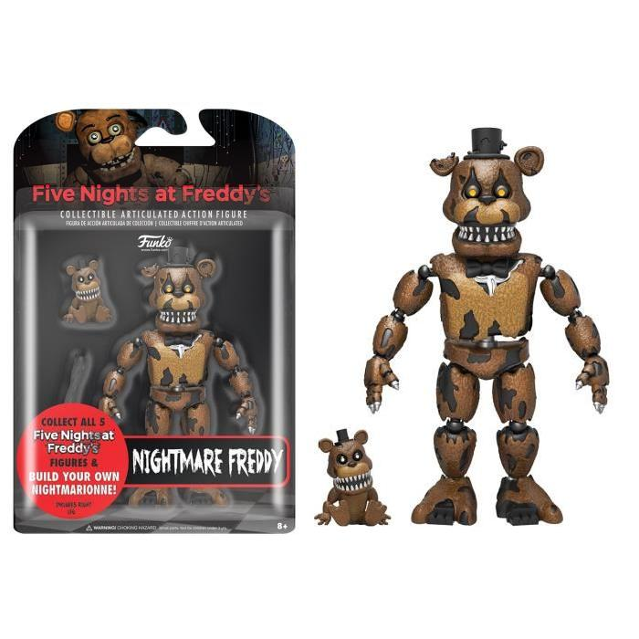 Figurine Funko Action Figure Articulée Five Nights at Freddy's : Cauchemar Freddy