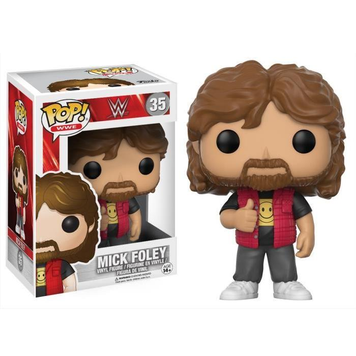 Figurine Funko Pop ! WWE : Mick Foley