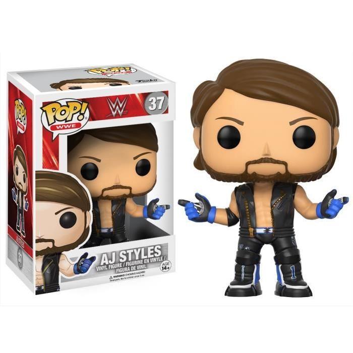 Figurine Funko Pop ! WWE : Aj Styles