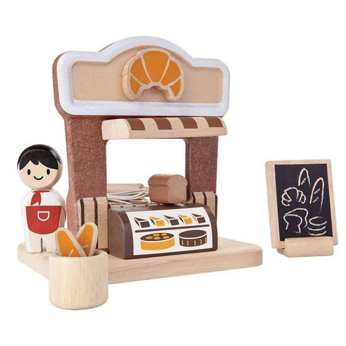 PLAN TOYS Jeu en bois PlanWorld - La boulangerie