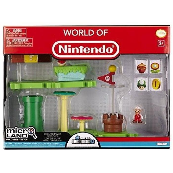 Micro playset Deluxe pack serie 1 Nintendo