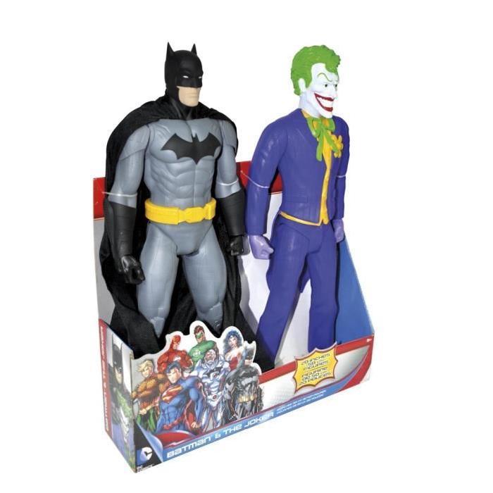 DC COMICS Figurine de 50 cm Batman & Joker
