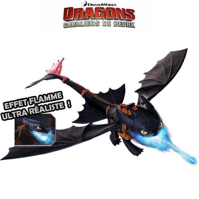 DRAGONS - Krokmou Cracheur De Flammes Dragons