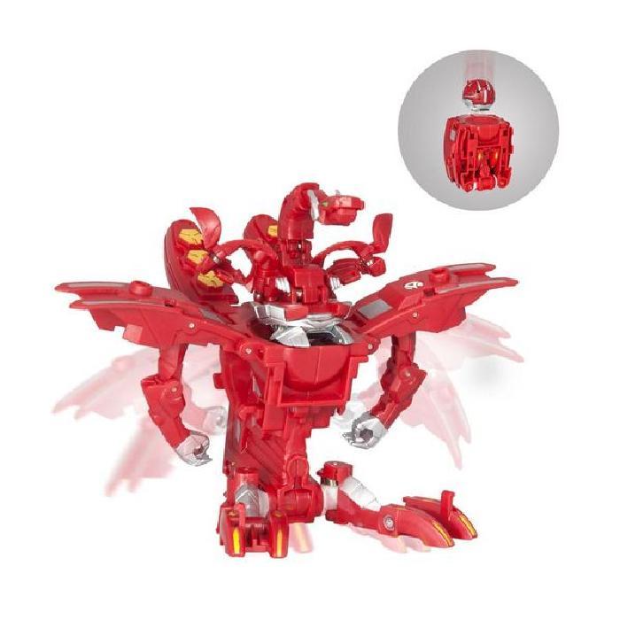 SPIN MASTER Figurine Bakugan Mechatanium surge - Rouge
