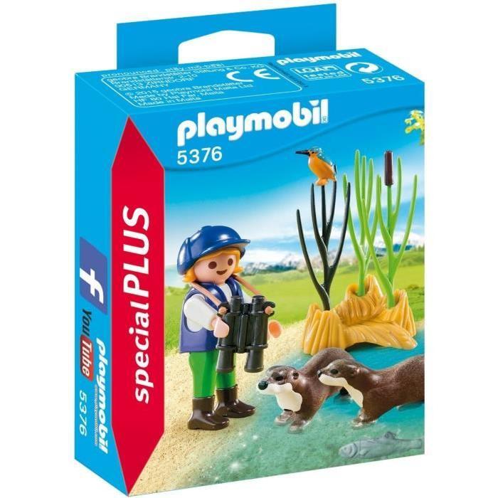 PLAYMOBIL 5376 Enfant avec Loutres