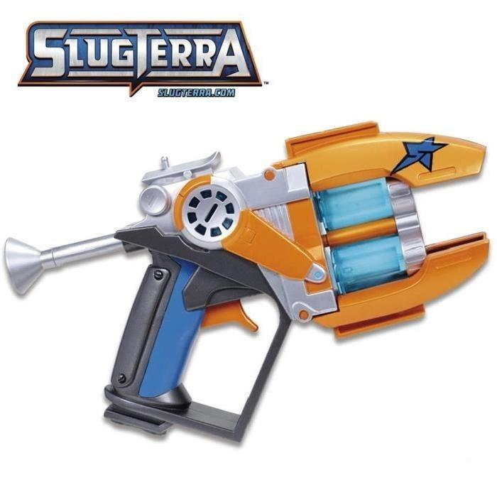 SLUGTERRA Blaster Double Canons + 3 Munitions Slugs
