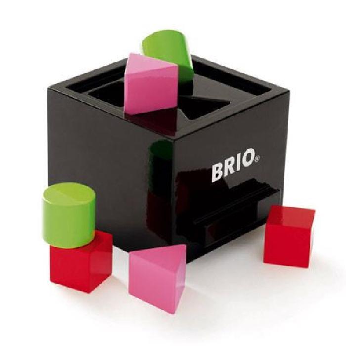BRIO Boîte a formes laquée - Noire