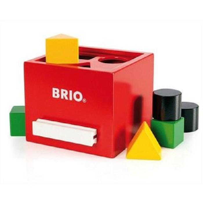 BRIO Boîte a formes - Rouge