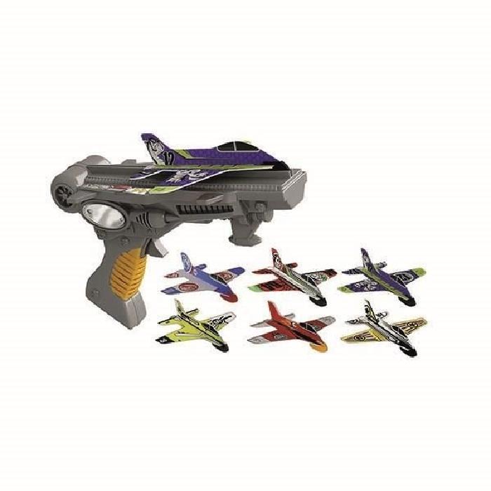 SILVERLIT Sky Challenger Xtreme Launcher + 3 Avions 10 cm