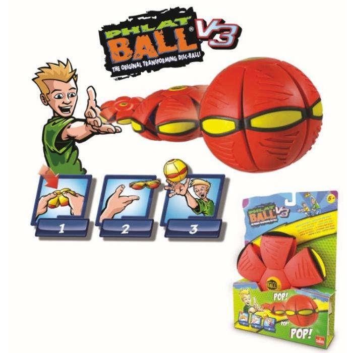 GOLIATH Phlat Ball Classic Rouge