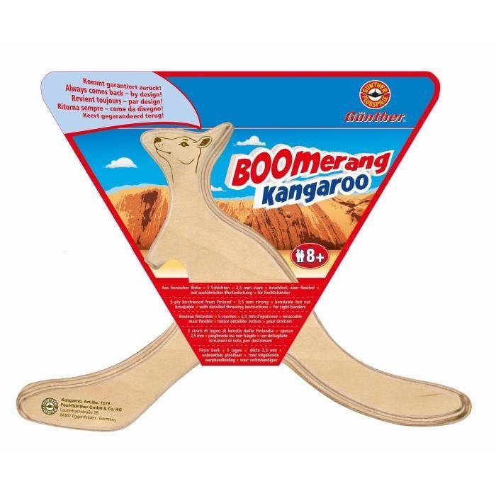GUNTHER Boomerang Kangourou