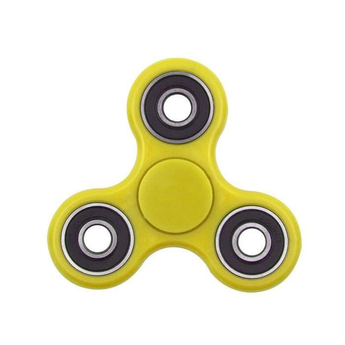 Turbospin Hand Spinner Jaune