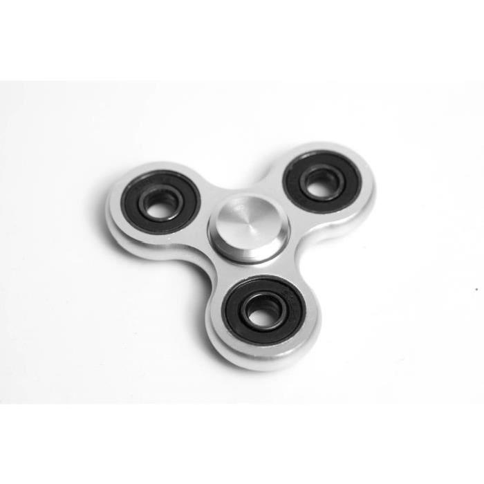 HAND SPINNER Anti Stress - Tinned Silver