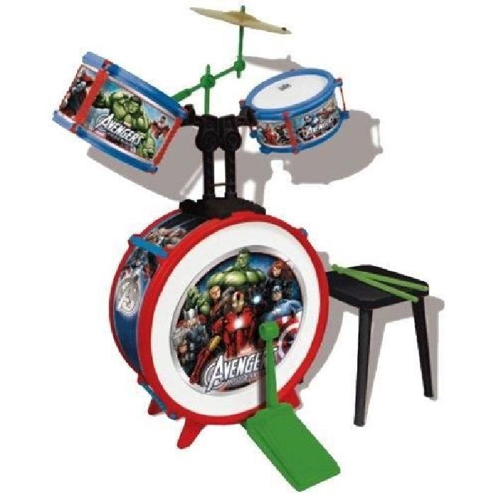 AVENGERS Batterie (Grosse caisse, deux tambours, bongo et cymbale)