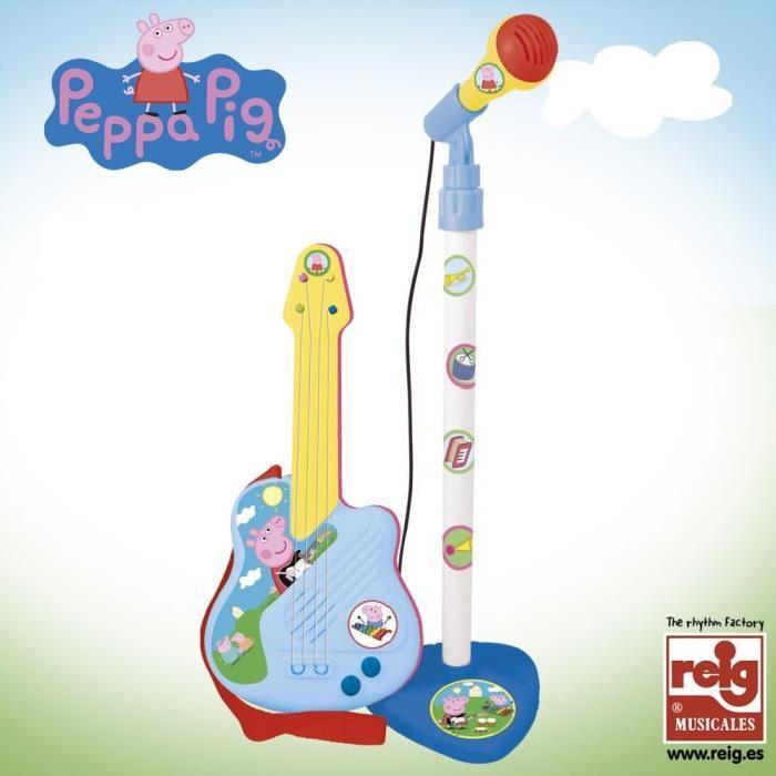 PEPPA PIG Micro et Guitare