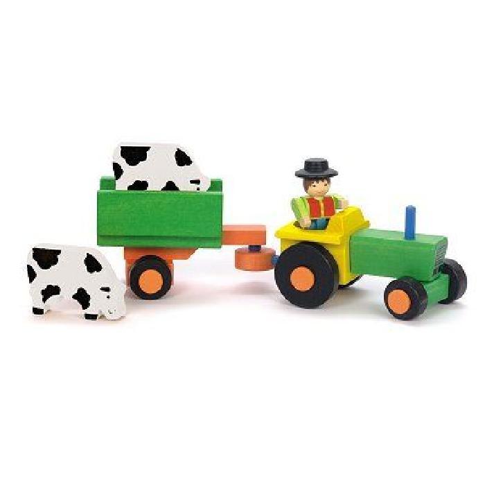 JEUJURA Tracteur et remorque