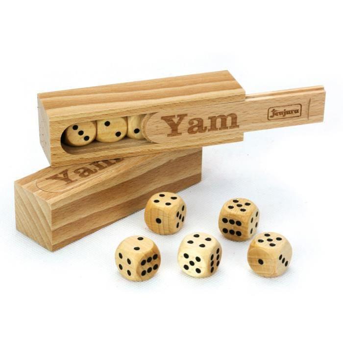 JEUJURA Coffret en bois - Yam
