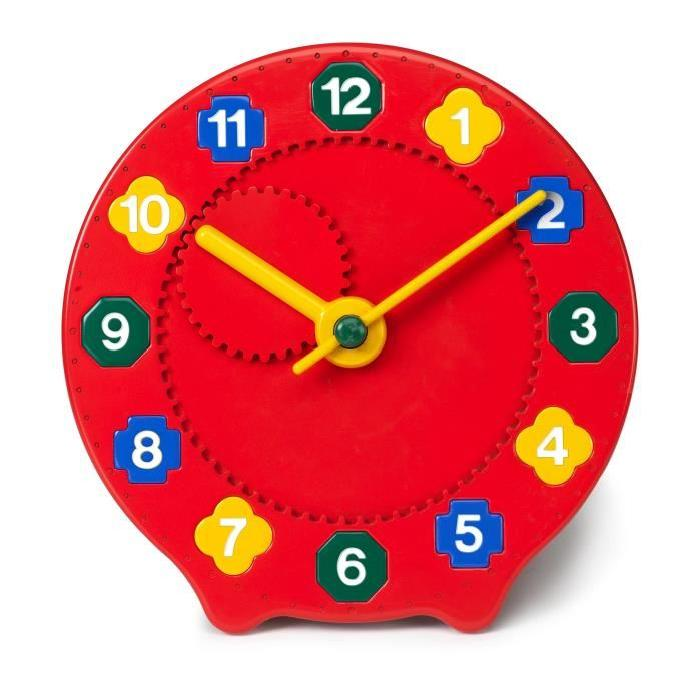 VIKINGTOYS - Grande Horloge Educative a formes
