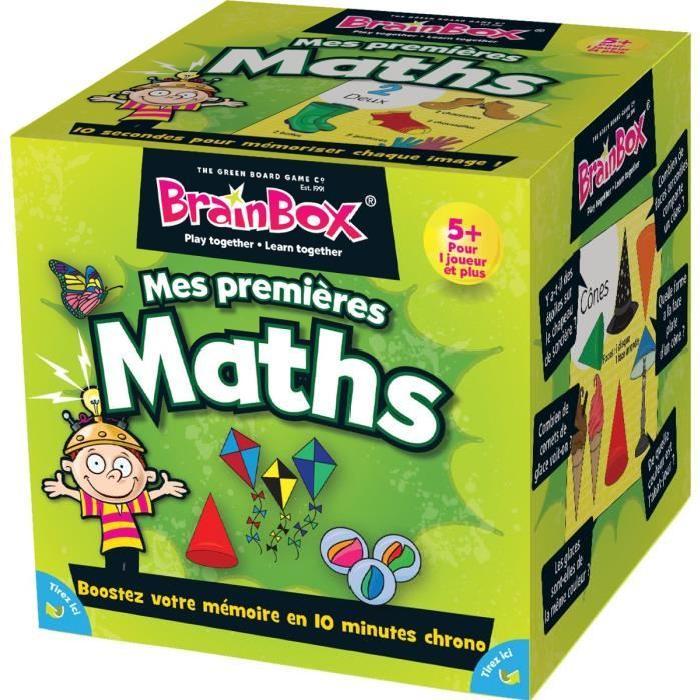 ASMODEE Brain Box Apprendre les Maths