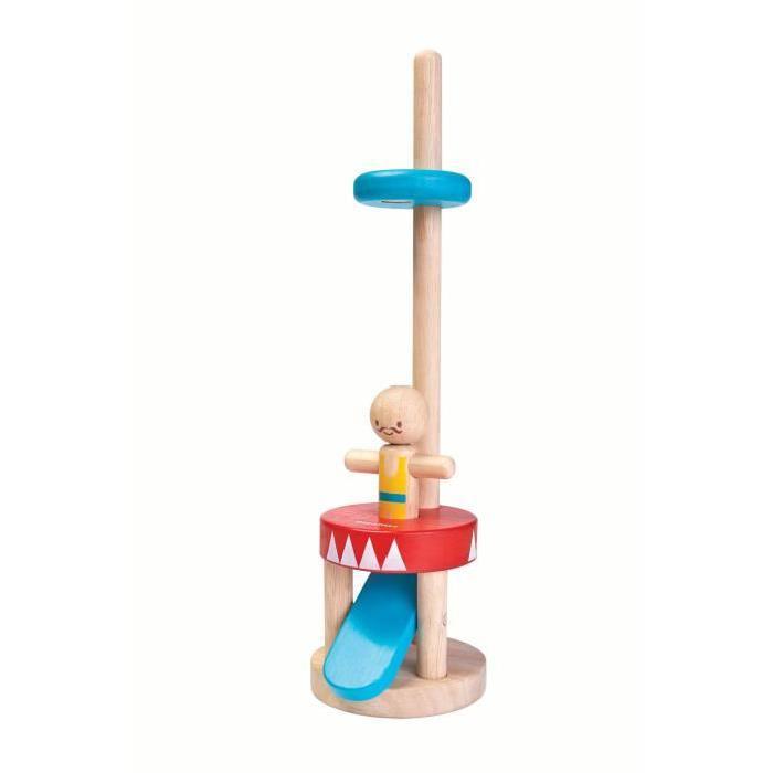 PLAN TOYS Jeu en bois Saut de l'acrobate