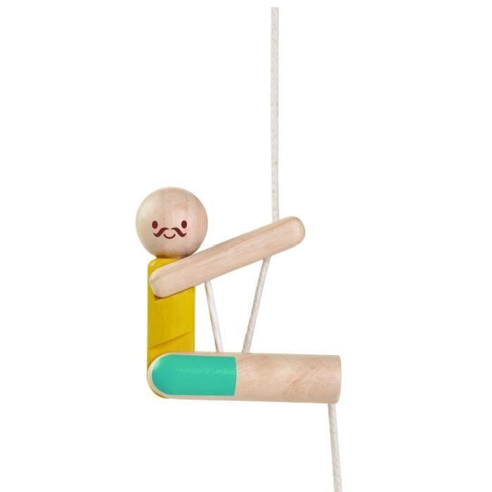 PLAN TOYS Jeu en bois Acrobate grimpeur