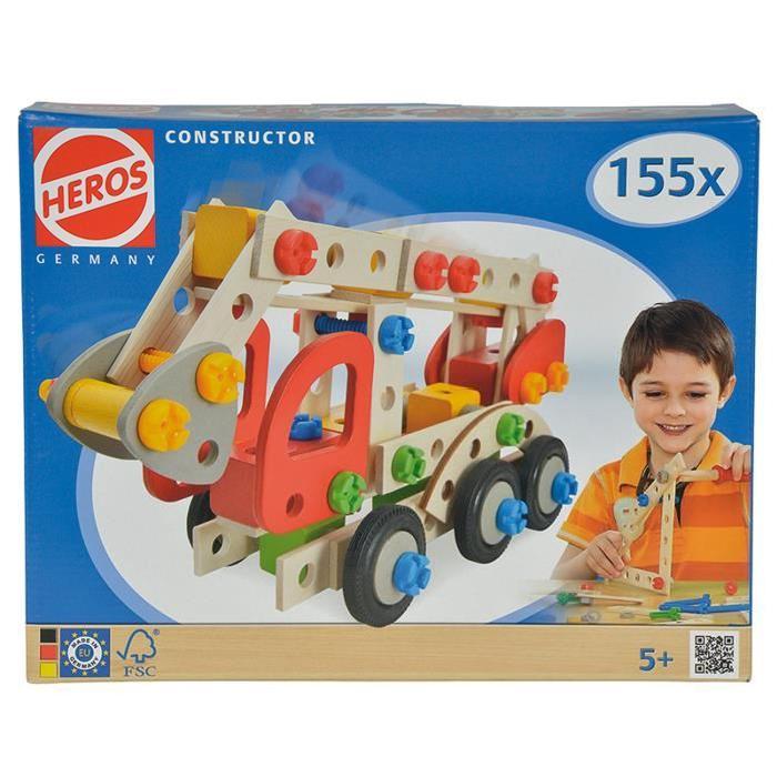 HEROS CONSTRUCTOR Camion de Pompier 155 pcs