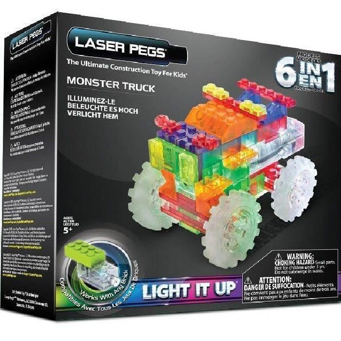 TEMPLAR 6 in 1 Monster Truck LASER PEGS