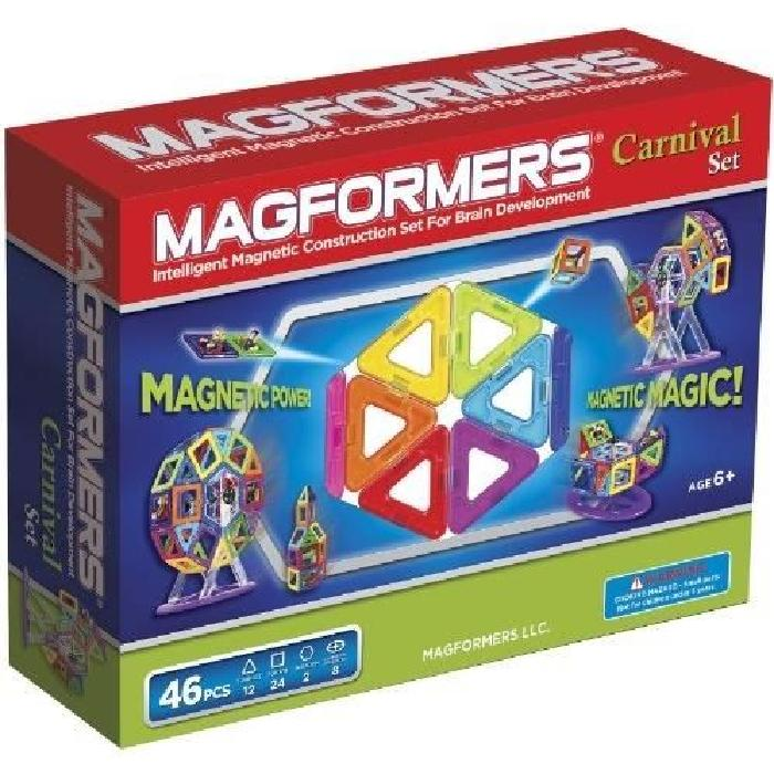 MAGFOREMRS CARNAVAL SET Jeux de construction 46 pieces