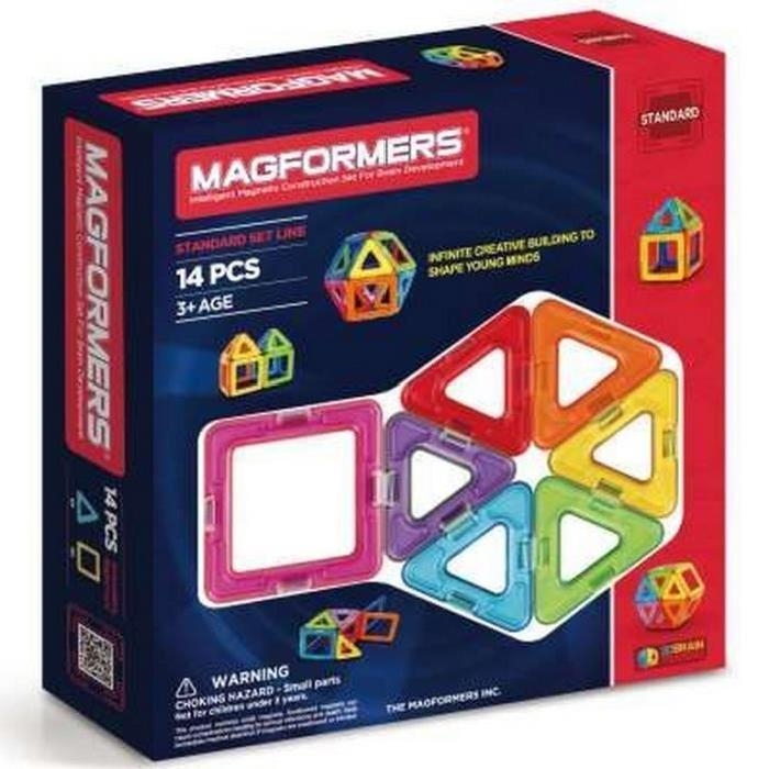 MAGFORMERS Jeux de construction 14 pieces