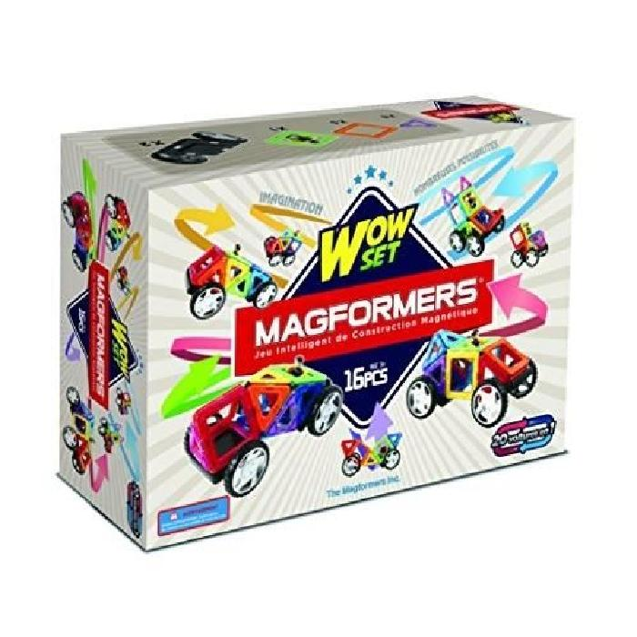 MAGFORMERS WOW SET Jeux de  construction 16 pieces