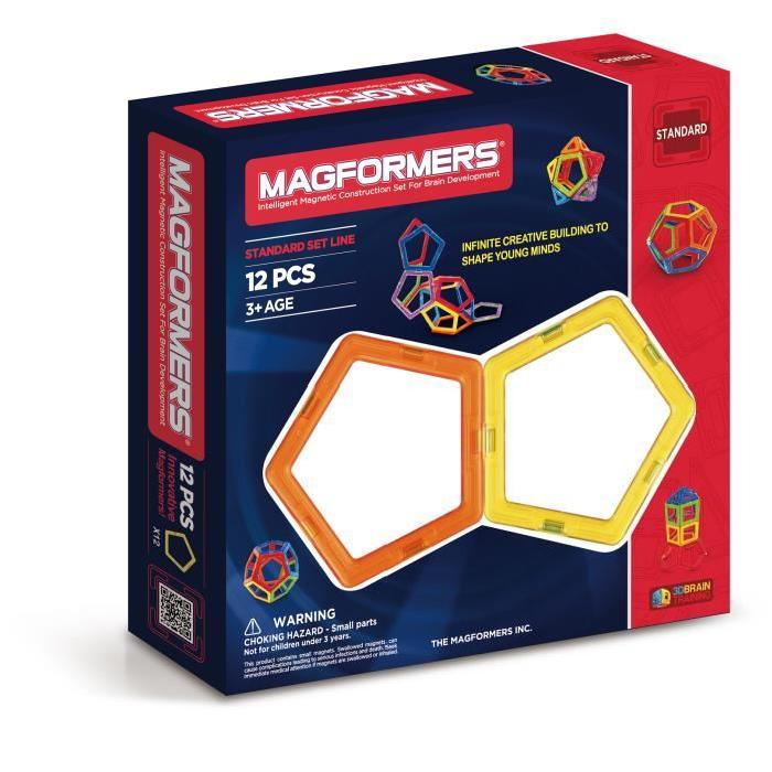 MAGFORMERS PENTAGONES Jeux de construction 12 Pieces