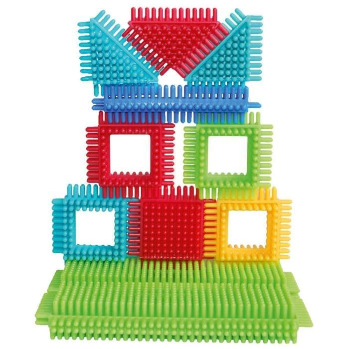 SEEK'O BLOCKS Jeu de construction - Tube 60 Pieces