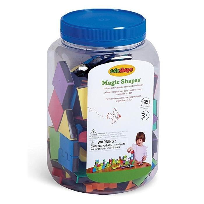 BSM Magic Shapes - 135 Pieces