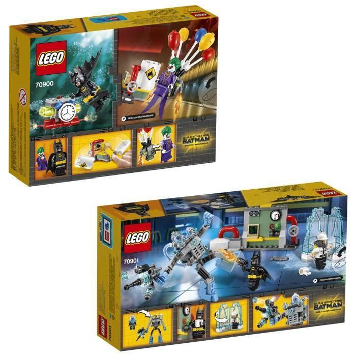 Pack LEGO Batman Movie - Joker et Mr Freeze (4 figurines)