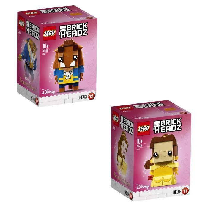 LEGO BrickHeadz Pack Belle et la Bete