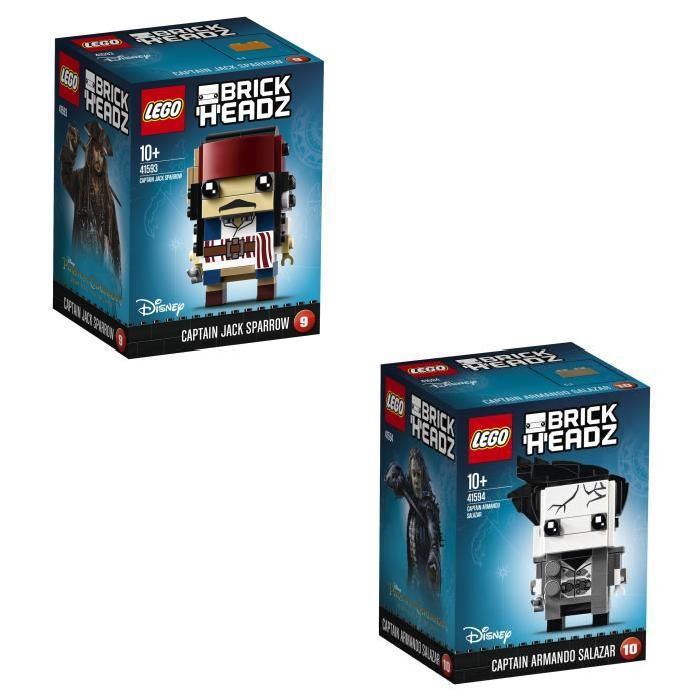 LEGO BrickHeadz Pack Pirates des Caraibes