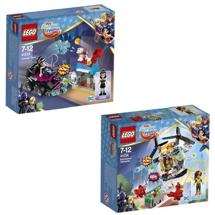 Pack LEGO DC Super Hero Girls (41233 Lanisha + 41234 Bumblebee)