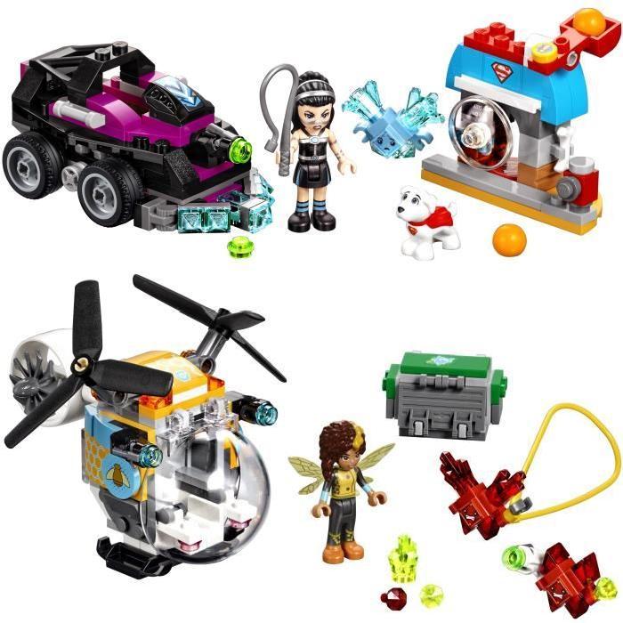 Pack LEGO DC Super Hero Girls (41233 Lanisha + 41234 Bumblebee)