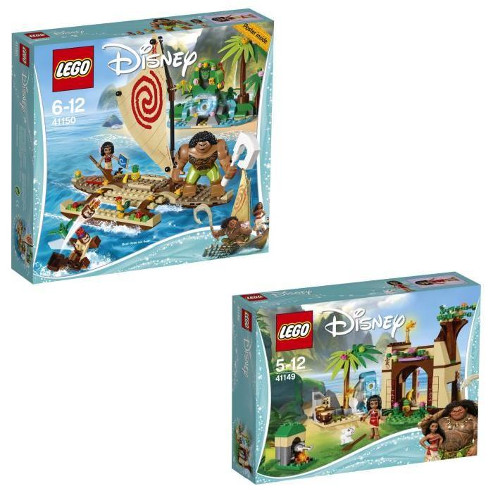 Bundle LEGO Disney Princess - Vaiana 41149 + 41150
