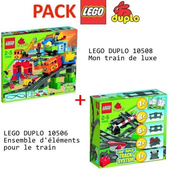 LEGO DUPLO Pack Complet Train et rails