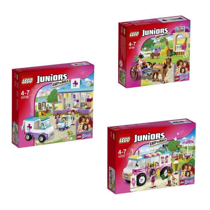 LEGO Junior - Bundle Friends 5 figurines (10726 + 10727 + 10728)