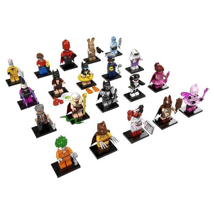 LEGO Minifigures Batman Movie 71017 - Lot de 3 Sachets Batman