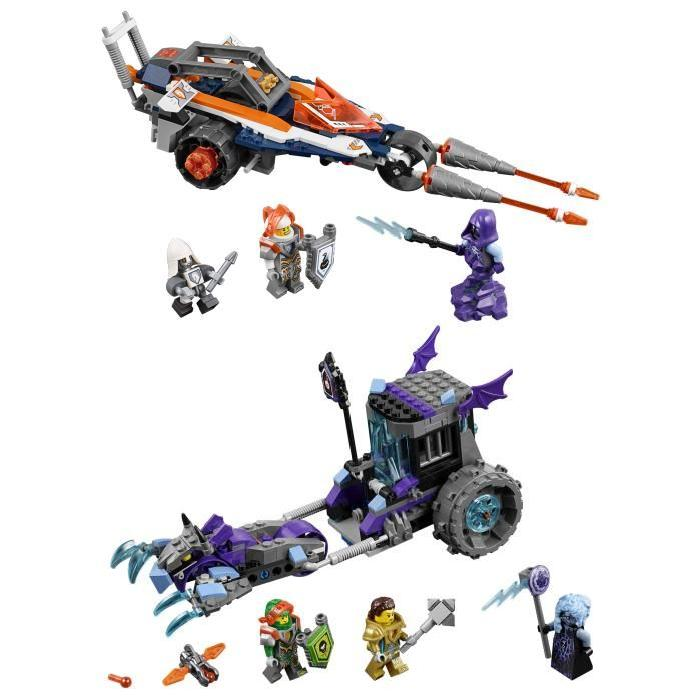LEGO Nexo Knights - Bundle 70348 + 70349 (Rogul + Ruina)