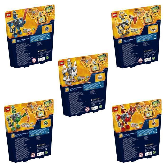 LEGO Nexo Knights - Bundle Super Armures des Chevaliers
