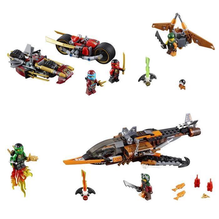 En Lego NinjagoL'éclair Du Vol Pack Désert70622La Poursuite dBsthQrCx